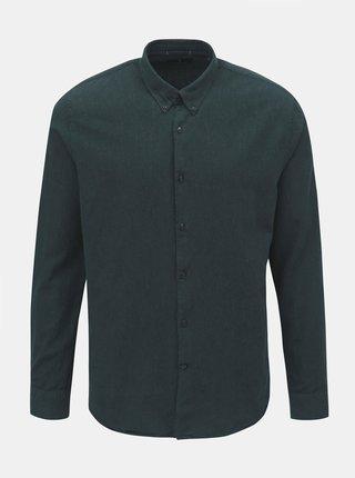 Tmavě zelená košile JUNK de LUXE