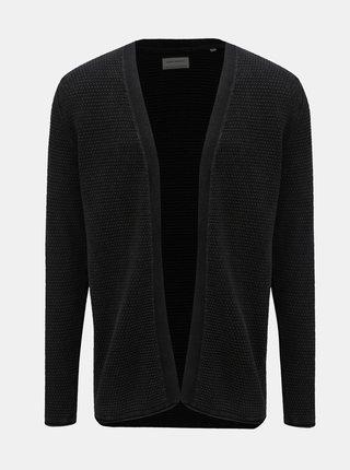 Cardigan negru cu model Shine Original Acid