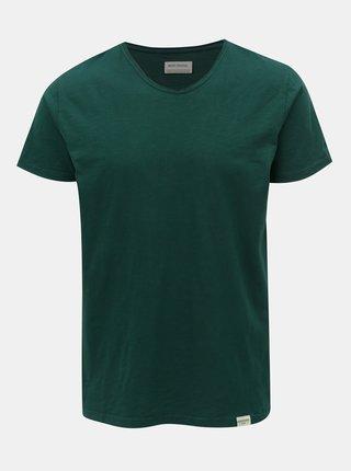 Tmavě zelené tričko s krátkým rukávem Shine Original