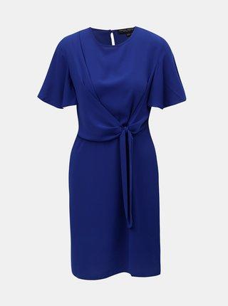 Rochie albastra cu snururi laterale Dorothy Perkins