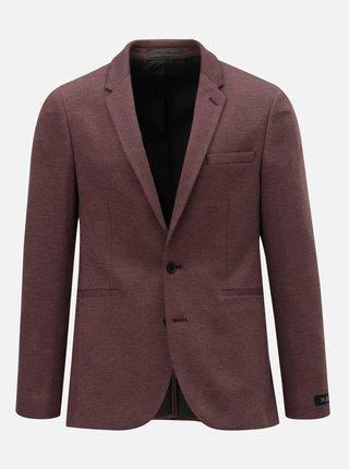 Sacou formal bordo melanj Burton Menswear London