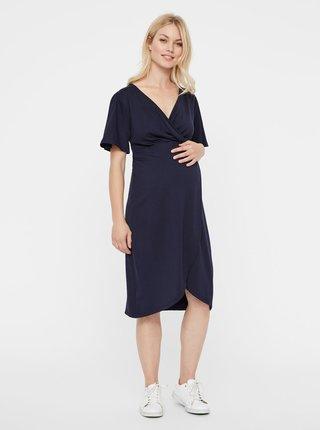 Rochie albastru inchis pentru femei insarcinate Mama.licious Suri