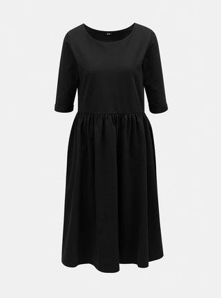 Černé volné šaty s kapsami ZOOT