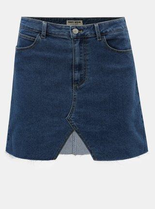 Modrá rifľová sukňa TALLY WEiJL