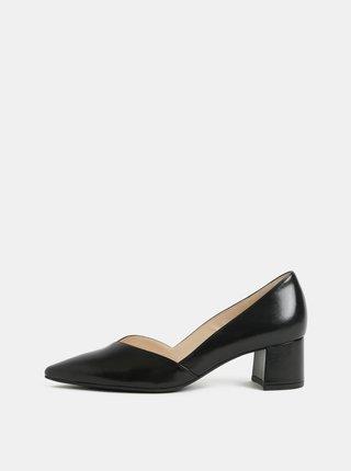 Pantofi negri din piele Högl