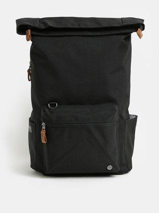 Černý nepromokavý batoh s vnitřní taškou na notebook 2v1 PKG 22 l