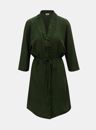 Zelené košeľové šaty Jacqueline de Yong Gilbert