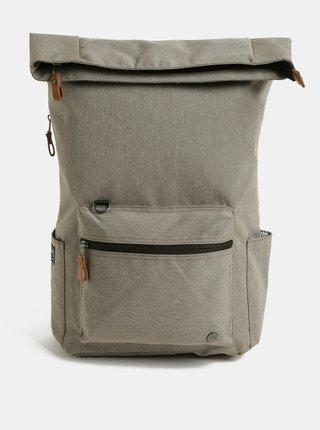 Světle hnědý nepromokavý batoh s vnitřní taškou na notebook 2v1 PKG 22 l