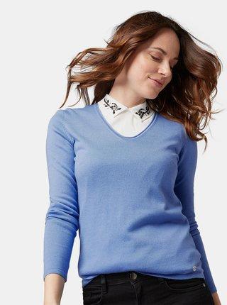 Modrý dámský lehký svetr Tom Tailor
