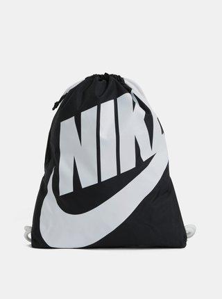 Čierny vak s potlačou Nike