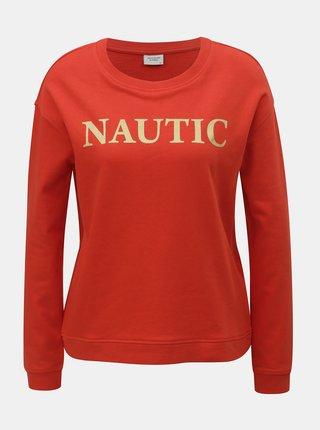 Bluza sport rosie cu imprimeu Jacqueline de Yong Bowie