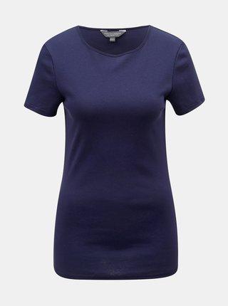 Tricou albastru inchis basic Dorothy Perkins Tall