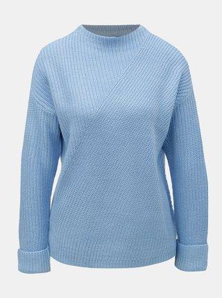 Pulover albastru deschis cu guler inalt Dorothy Perkins