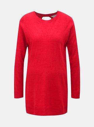 Pulover rosu pentru femei insarcinate cu decupaj la spate Dorothy Perkins Maternity
