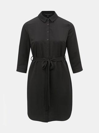 427cf2cb30dc Čierne košeľové šaty Dorothy Perkins Curve