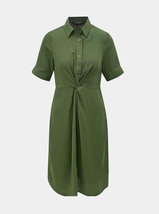 Rochie tip camasa verde Dorothy Perkins