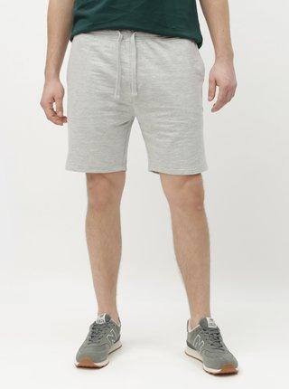 Pantaloni scurti sport gri deschis melanj Burton Menswear London