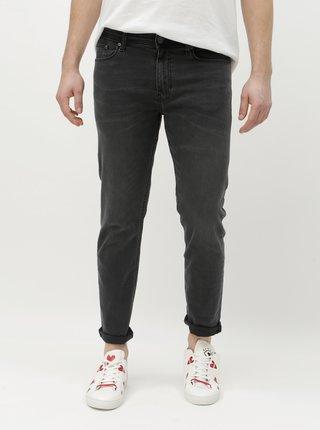 Blugi gri skinny Burton Menswear London