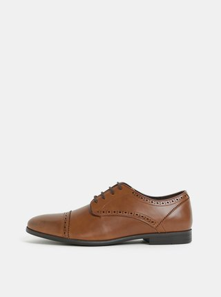Pantofi barbatesti maro Burton Menswear London