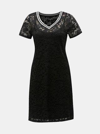 Černé krajkové šaty ONLY Amaze