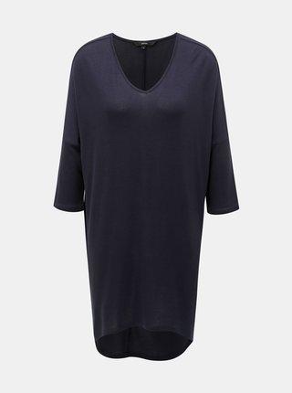 Tmavě modré dlouhé tričko VERO MODA Paya