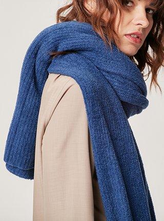 Modrý šál touch me.