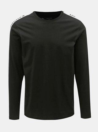 Tricou alb-negru slim Jack & Jones Rock