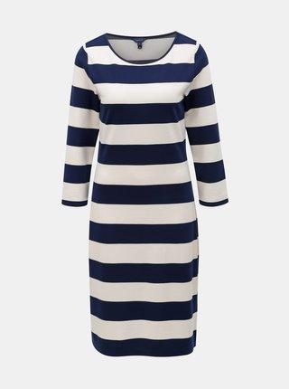 Bielo–modré pruhované šaty GANT
