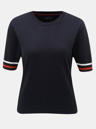 Tmavě modré dámské svetrové tričko GANT