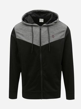 Hanorac gri-negru Jack & Jones Cervon