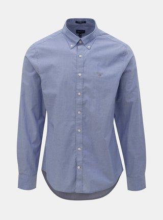 Modrá pánská slim fit košile GANT