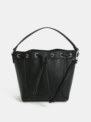 Geanta bucket neagra Pieces Balbina