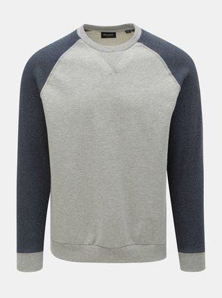 Bluza sport albastru-gri ONLY & SONS Raglan
