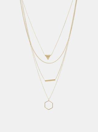 Colier auriu Pieces Lexago