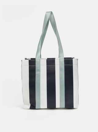 Bielo–modrá kabelka Pieces Briannah