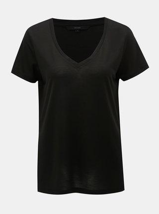 Tricou basic negru VERO MODA Spicy