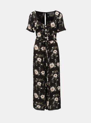 Salopeta neagra florala Miss Selfridge