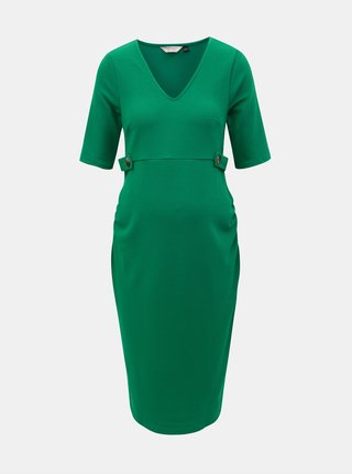Rochie verde pentru femei insarcinate Dorothy Perkins Maternity