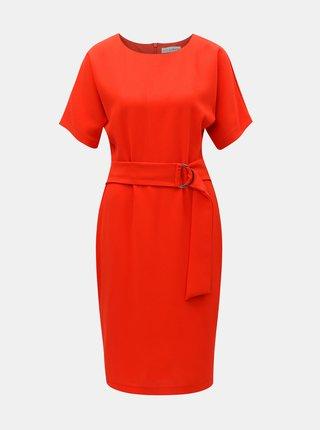 Červené šaty Lilly & Franc by Dorothy Perkins
