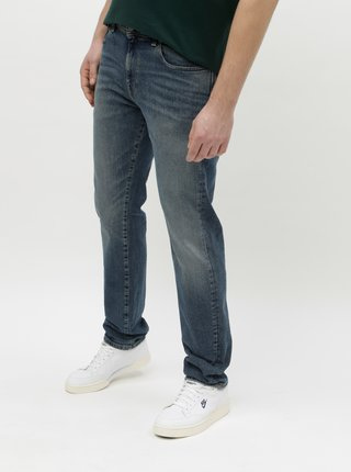 Blugi albastri slim Selected Homme Leon