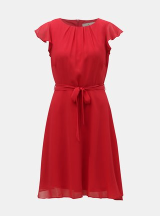 Červené šaty Billie & Blossom