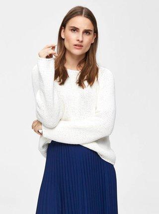 c49b913b62a1 Biely sveter Selected Femme Olga
