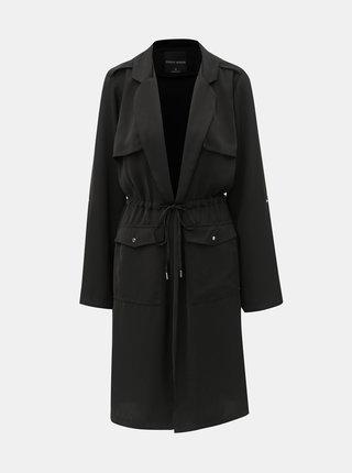 Čierny tenký kabát TALLY WEiJL Dench