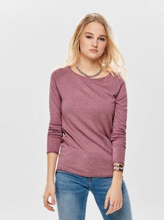 Ružový tenký sveter ONLY Mila
