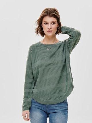 Zelený tenký sveter ONLY Caviar