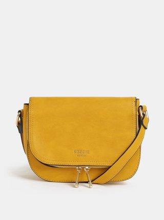 Žlutá crossbody kabelka Bessie London