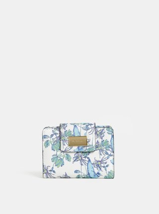 Portofel alb floral Bessie London