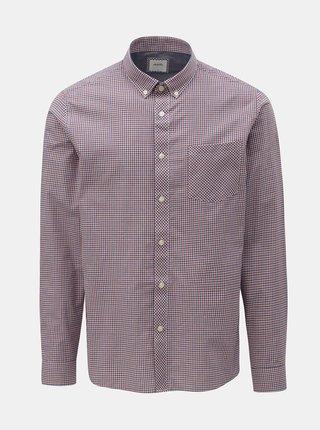 Modro–červená kockovaná košeľa Burton Menswear London