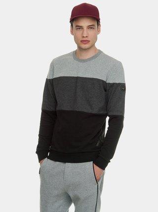 Bluza sport barbateasca negru-gri Ragwear Dotte