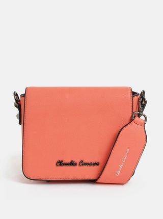 Oranžová crossbody kabelka Claudia Canova Priti